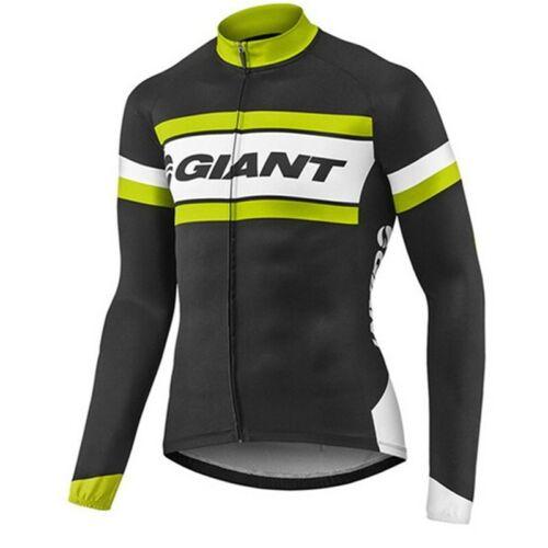 KJX4907 Mens New Cycling Dh Mtb Winter Thermal Fleece long sleeve jersey Bib Pan
