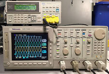 Tektronix TDS754D Upgraded to TDS784D Oscilloscope 1GHz 4GS/s 13 1F 2M 2F 2C LCD