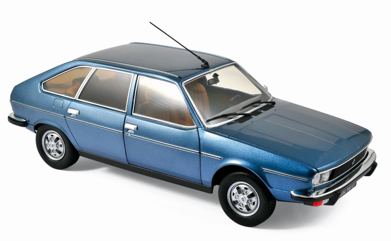 NOREV 1 18 1978 RENAULT 30 TS ARDOISE azul Diecast Car 185270