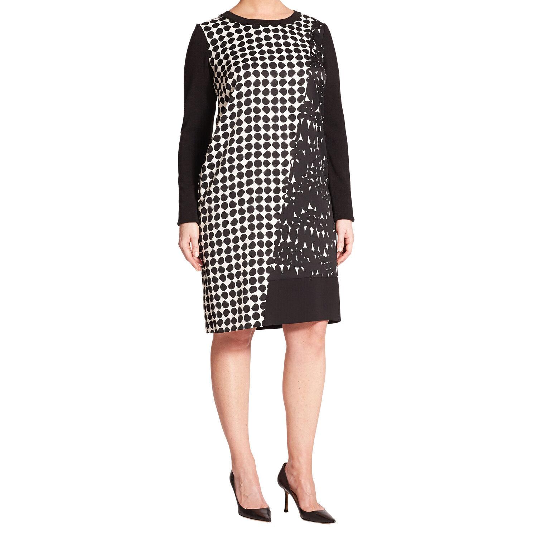 MARINA RINALDI  para mujeres Vestido Tubo Multi Domenica Impreso  640 Nuevo con etiquetas  Tienda de moda y compras online.