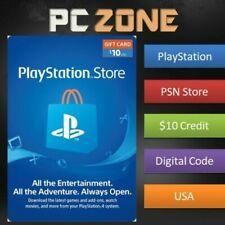 Tarjeta Usd $10 PlayStation Store-PS PSN nos tienda instantáneo código PS4/PS3/PSP
