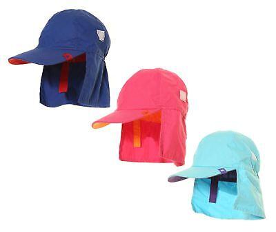 Coscienzioso Ragazzi Ragazze Cappelli Estate Sole Vacanze Spiaggia Legionario, Collo Protettore-mostra Il Titolo Originale