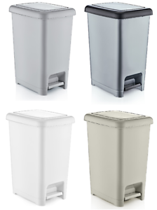 small large slim plastic pedal bin home bedroom bathroom. Black Bedroom Furniture Sets. Home Design Ideas