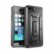 iPhone SE Case SUPCASE Full-body Rugged Holster Case with Built... Free Shipping