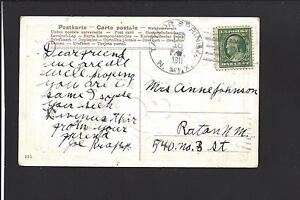 TAYLOR SPRINGS, NEW MEXICO, PICTURE POSTCARD,1911. TERRITORIAL. COLFAX 1909/1942