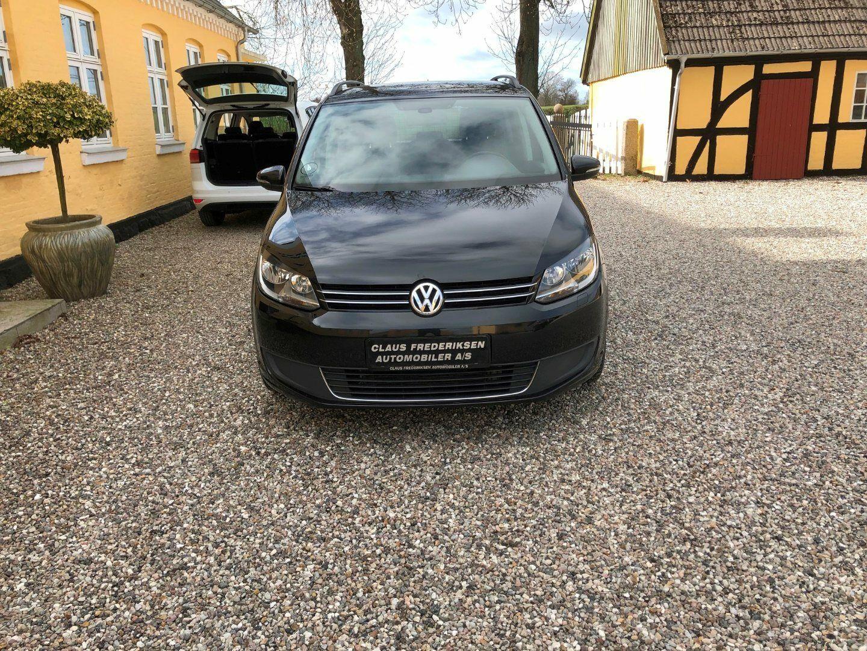 VW Touran 1,6 TDi 105 Comfortline DSG BMT 7p 5d - 159.900 kr.