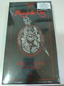 Mago-de-Oz-Diabulus-In-Opera-2-x-CD-2-x-DVD-Libro-Pua-Poster-2T