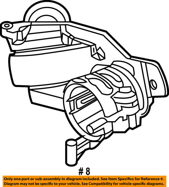 saturn gm oem 08 09 astra ignition switch 93181315 ebay 2008 Saturn Astra Xe Hatchback