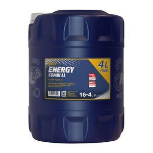 20 liter 5w 30 mannol energy combi ll longlife motor l. Black Bedroom Furniture Sets. Home Design Ideas