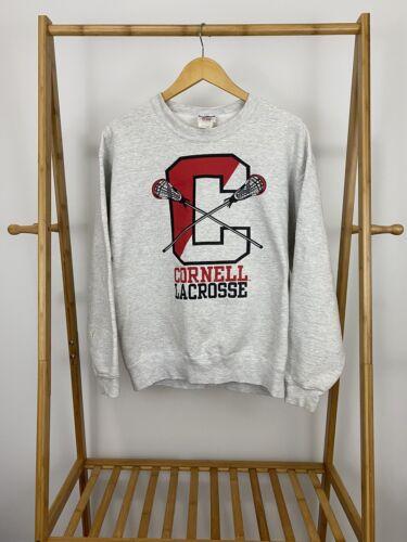 VTG Cornell University Lacrosse Crewneck Sweatshir
