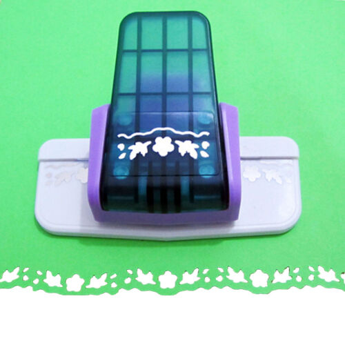 Fancy border punch S flower design embossing Punch scrapbooking paper cutter—AY