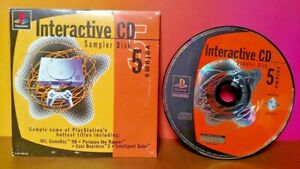 PlayStation-1-Interactive-CD-Sampler-Disk-Volume-5-Sony-PS1-COMPLETE-in-SLEEVE