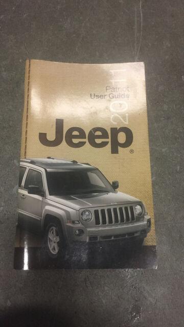 11 2011 Jeep Patriot Owners Manual    Handbook    Guide