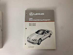 1996 Lexus SC400 SC300 SC 400 SC 300 Electrical Wiring ...