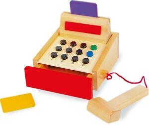 Kaufläden & Zubehör NEU Kleinkindspielzeug Kasse aus Holz