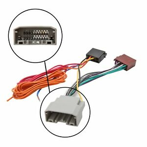 car stereo radio iso wiring harness connector adaptor. Black Bedroom Furniture Sets. Home Design Ideas
