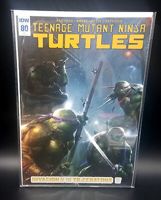 TMNT Teenage Mutant Ninja Turtles #80 Exclusive Mattina Variant Cover IDW Comics
