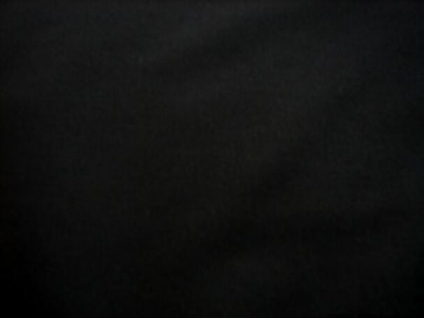 BLACK COTTON CALICO CRAFT FABRIC -152cm BY THE METRE -MINIMUM ORDER 4MTRS