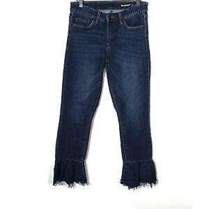Blank NYC $125 dark wash flare bottom jeans Size 27.