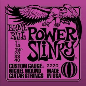 POWER-SLINKY-2220-ERNIE-BALL-ELECTRIC-GUITAR-STRINGS-SET-11-48-STRINGS