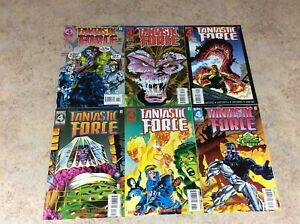 FANTASTIC-FORCE-13-14-15-16-17-18-LOT-OF-6-COMIC-1995-1996-MARVEL