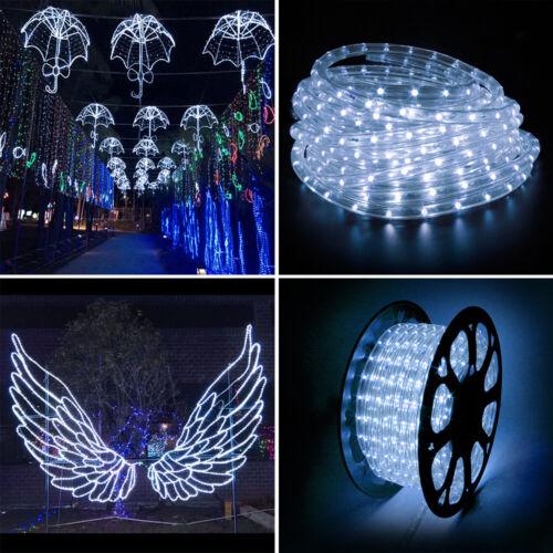 2-100m LED Lichterschlauch LED Lichtschlauch Lichterkette Schlauch Wasserdicht