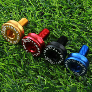 2 PCS Bike Axle Bolt Screw Capless Bicycle Key Crank Arm Bottom B/_bf