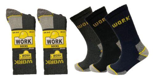 Men Heavy Duty Industrial Standard Work Thermal Winter Warm Thick Socks Job Lot