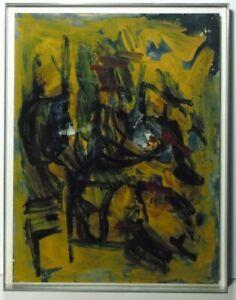 "Norddeutsche Künstler:Günter Tollmann ""Selbst"", 1986, Öl, signiert, datiert"