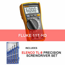 Fluke 117 Hd Handheld Multimeter With Screwdriver Set