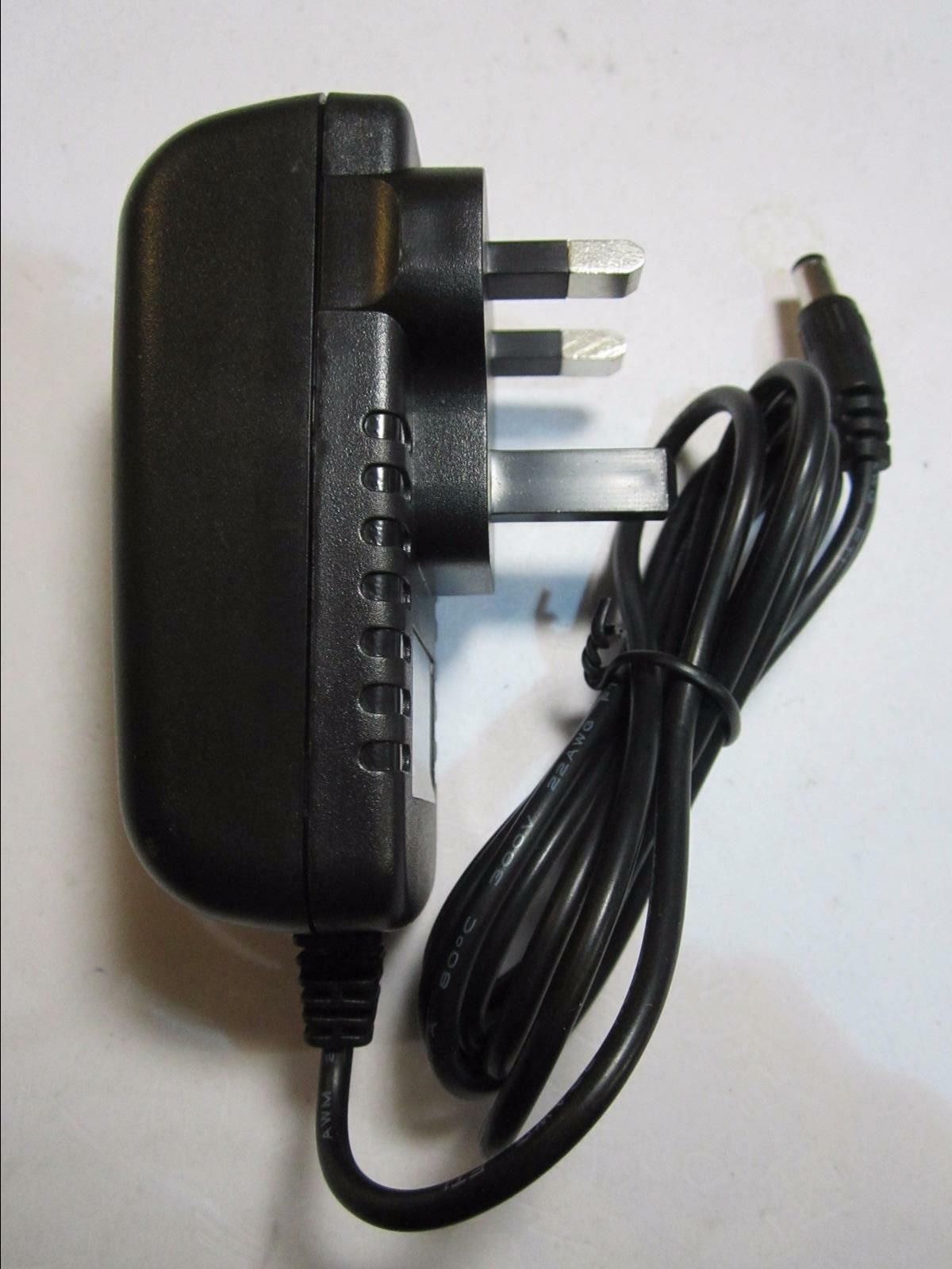 12V Mains AC-DC Adaptor Power Supply for Casio CPS-7 Electric Keyboard Piano