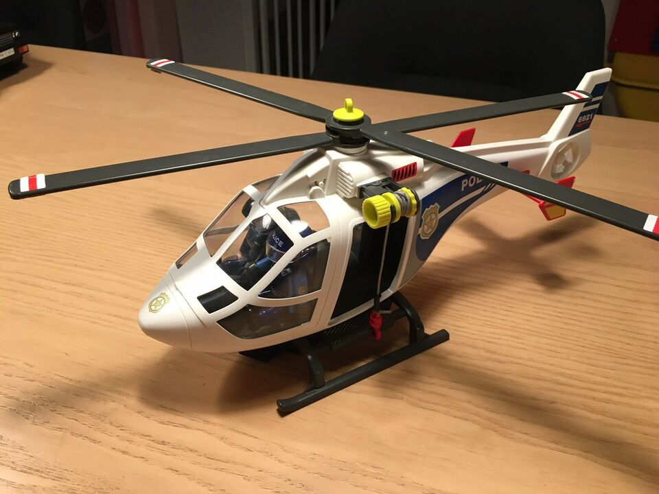 Playmobile politi helikopter