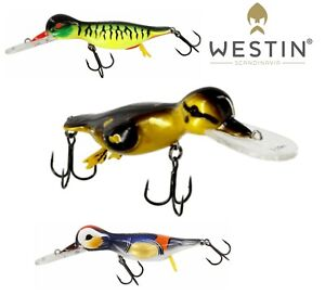 Westin-Lures-DANNY-THE-DUCK-Crankbait-14cm-48g-Lure-Bait-Predator-Pike-Fishing