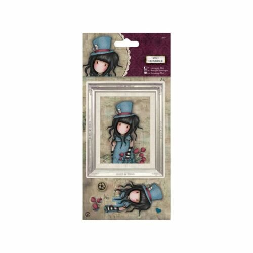Santoro Mini Decoupage great for cards and crafts The Hatter