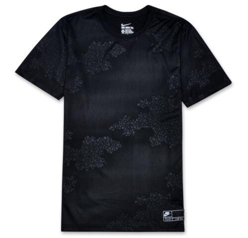 Tee T-Shirt  NEW  815701-010 Black Nike sz L Men/'s Roshe One S