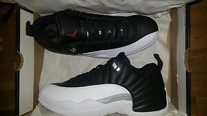 the latest 86dce b38d9 Image is loading Mens-Air-Jordan-12-XII-Retro-Low-Playoffs-