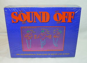 RARE SOUND OFF TEAM GAME OF SOUND & ACTION SOUNDSATIONAL! 1992 - NEW
