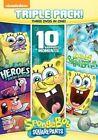 Spongebob Squarepants Triple - 3 Disc Set 2015 Region 1 DVD