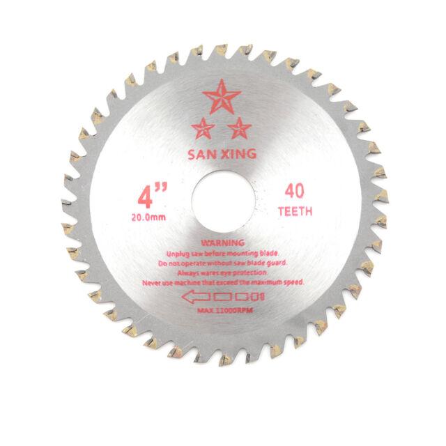 Wood Cutting Saw Blade 4 Inch 40T Circular Drill Saw Blade Power Tool FSAU