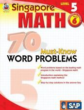 70 Must-Know Word Problems, Grade 6 Singapore Math
