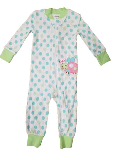 Little Me Girls 1 Piece Sleeper Various Designs
