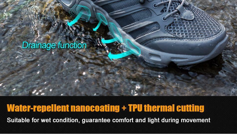 Outdoor Sports Upstream Schuhes for Men Breathable Tactical Camping Hiking Breathable Men Coating 9c6d1d