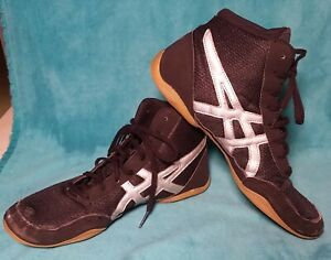quality design 1bae2 941c9 Image is loading Asics-Matflex-Wrestling-Shoes-Men-039-s-Size-