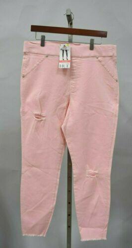 HUE 3X TUTU Pink Ripped Knee Original Denim Skimmer