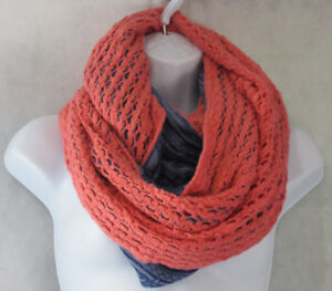 BCBGeneration-Women-039-s-Affirmation-Knit-Infinity-Loop-Scarf-Eventide-One-Size