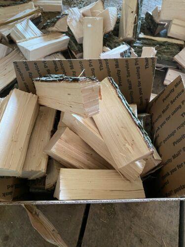 Hickory Wood Chunks for Smoking BBQ Grilling Cooking Smoker FREEShipping 5+LBS