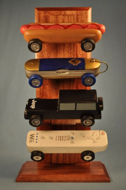 Pinewood Derby Pine Car Adjustablereversible Display Stand Interesting Pinewood Derby Display Stand Plans