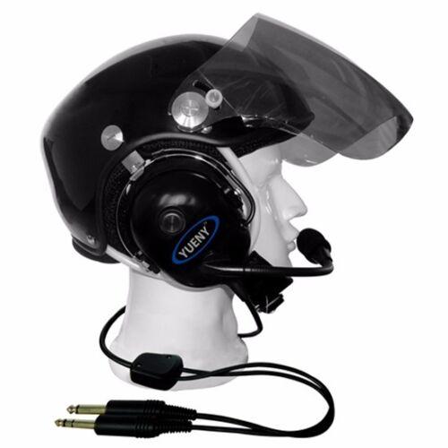 aviation helmet with headset pilot helmets YUENY EN966 certificate YAHH-2000 PNR