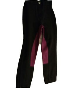 Shires Wessex Jodphurs little  Size 20 ..navy and purple