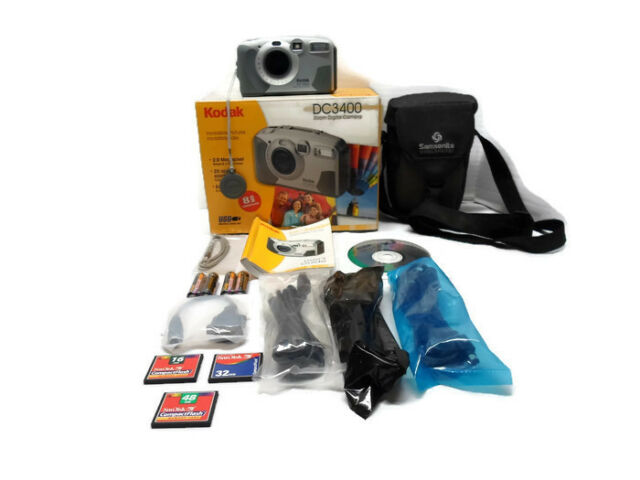 Kodak DC3400 Zoom Digital Camera Bundle 2.0 MP